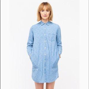 Steven Alan chambray shirt dress